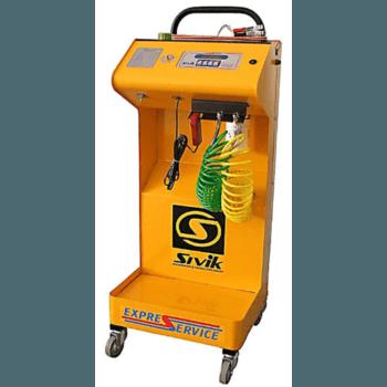 Установка полной диагностики топливных систем и очистки форсунок инжекторных двигателей Sivik КС-120