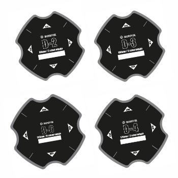 Пластыри кордовые для диагональных шин