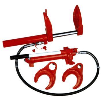 Съёмник пружин (стяжка) гидравлический, 1 тонна MATRIX