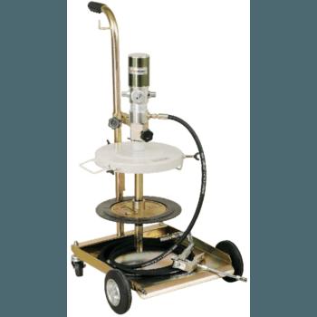 Солидолонагнетатель пневматический 1700512 (насос 50:1) Lubeworks для бочек 16-30 кг