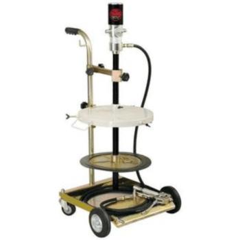Солидолонагнетатель пневматический 1700524 (насос 50:1) Lubeworks для бочек 30-60 кг