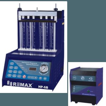 Установка для тестирования и ультразвуковой очистки форсунок REMAX HP-6B