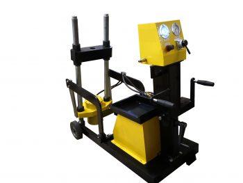Выпрессовщик шкворней для грузовых авто 100 тонн ТТН-101