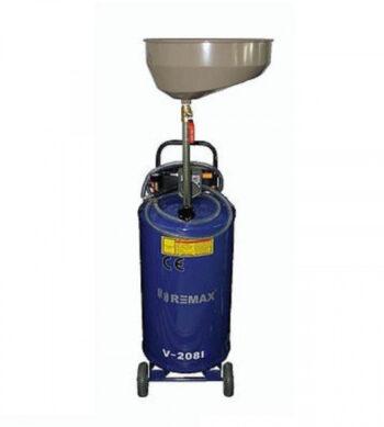 Установка маслосборная пневматическая REMAX V-2081 (бак 65 литров, воронка)