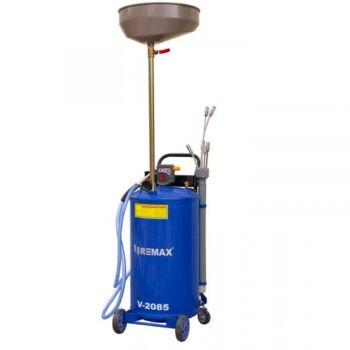 Установка маслосборная пневматическая REMAX V-2085, бак 65л, воронка, щупы